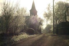 Village in Midi Pyrenees, Dordogne Valley, France Royalty Free Stock Photo
