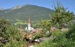 Mieders,Stubaital,Tirol,Austria. Village of Mieders in Stubaital,Tirol,Austria Stock Photos