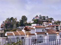 The Village of Mijas on the Costa del Sol Spain Royalty Free Stock Photo