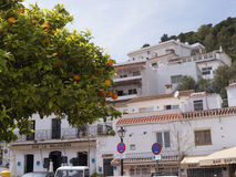 The Village of Mijas on the Costa del Sol Spain Stock Photography