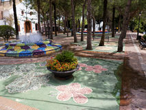 Village of Mijas on the Costa del Sol Spain Stock Image