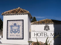 Village of Mijas on the Costa del Sol Spain Royalty Free Stock Images