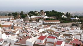 The village of Mijas, Spain stock video