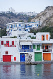 Village on Milos island in Greece Royalty Free Stock Photography