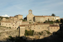 Village of Minerve in Aude Stock Images