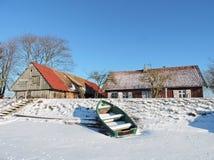Village Minge, Lithuania Royalty Free Stock Photo