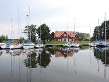 Village Minge, Lithuania Stock Images