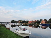 Village Minge, Lithuania Royalty Free Stock Photos