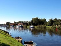 Village Minge, Lithuania Royalty Free Stock Photo