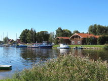 Village Minge, Lithuania Royalty Free Stock Images