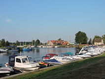 Village Minge, Lithuania Stock Photo