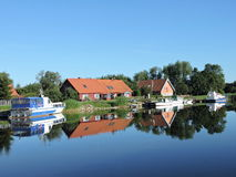Village Minge, Lithuania Stock Images