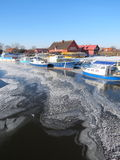Village Minge, Lithuania Stock Photography