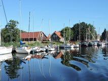 Village Minge, Lithuania Royalty Free Stock Image