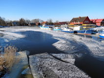 Village Minge, Lithuania Royalty Free Stock Photography