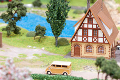 Village miniature Royalty Free Stock Images