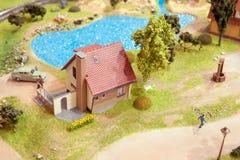 Village Miniature Stock Photo
