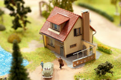 Village miniature Stock Photography