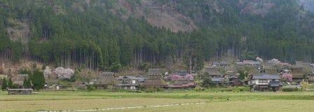 Village Miyama in Kyoto, Japan Royalty Free Stock Photography