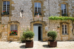 Village of Monpazier in Perigord Stock Photo