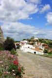 Village of Monsaraz. Monsaraz: landscape of monsaraz village stock images