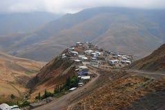 Village montagneux de Xinaliq en Azerbaïdjan images stock
