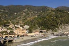 Village of Monterosso al Mare, Cinque Terra, Royalty Free Stock Photos