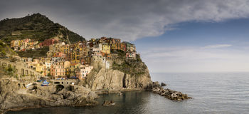 Village of Monterosso al Mare, Cinque Terre, Italy. Royalty Free Stock Images