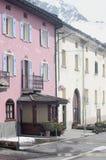 Village Montespluga, Italy Royalty Free Stock Photo