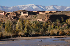 Village in Morocco Stock Image