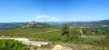 The village of Motovun Royalty Free Stock Photos