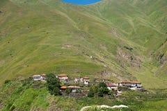 Village in mountain Royalty Free Stock Photos