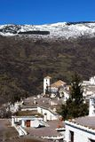 Village in mountains, Bubuion, Spain. Royalty Free Stock Photos