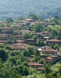A village in the mountains of Bulgaria Royalty Free Stock Images