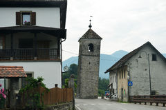 Village in  mountains Royalty Free Stock Photography