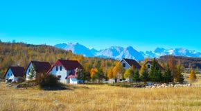 Village. Mountains. Montenegro Royalty Free Stock Photos