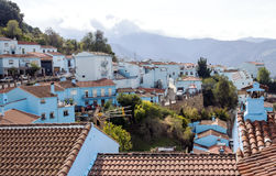 Village in the mountains Stock Images
