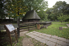 Village Museum in Bucharest. Dimitrie Gusti Village Museum in Bucharest, Romania royalty free stock photography