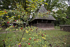 Village Museum in Bucharest. Dimitrie Gusti Village Museum in Bucharest, Romania royalty free stock images