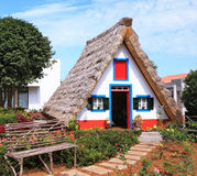 The village - Museum of the Portuguese island of Madeira royalty free stock photo