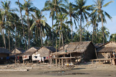 Village Myanmar de Fisher Photo libre de droits