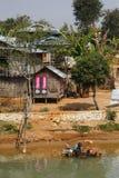 The Village in Myanmar Stock Photos
