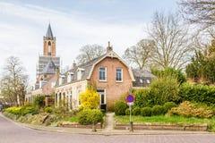 Village néerlandais traditionnel de Streetview Images stock