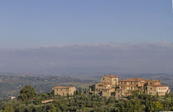 Village n Crete Senesi Royalty Free Stock Photography