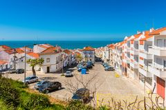 Village of Nazaré Portugal Royalty Free Stock Image