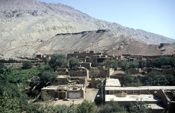 Village near Dunhuang,China Royalty Free Stock Photography