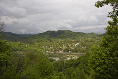 Village near Prahova Valley Stock Photography