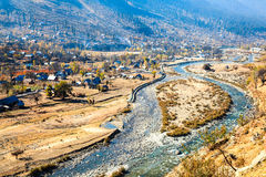 Village near sonamarg. Kashmir, india Royalty Free Stock Photos