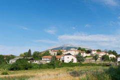 Village Neffes in the Haute Provence Stock Image