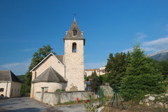 Village Neffes in the Haute Provence Royalty Free Stock Photo